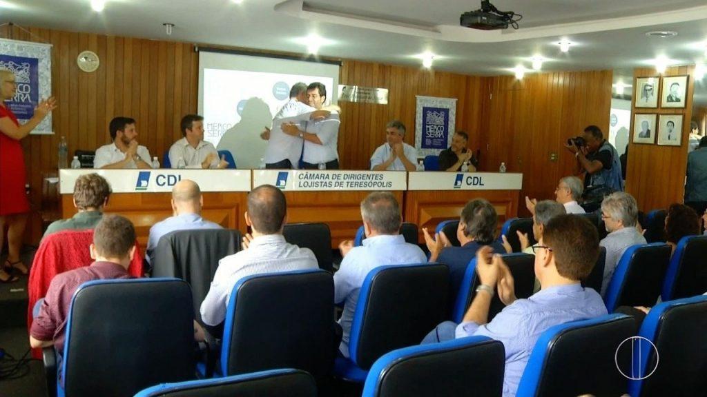 CDL sedia posse da diretoria do MercoSerra – Agência de Desenvolvimento Econômico da Região Serrana