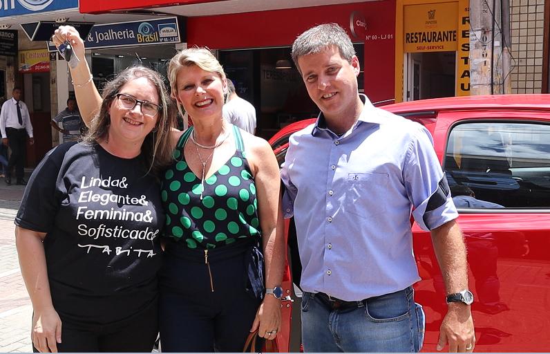 CDL Teresópolis entrega o Toyota 0Km do Natal de Prêmios 2018